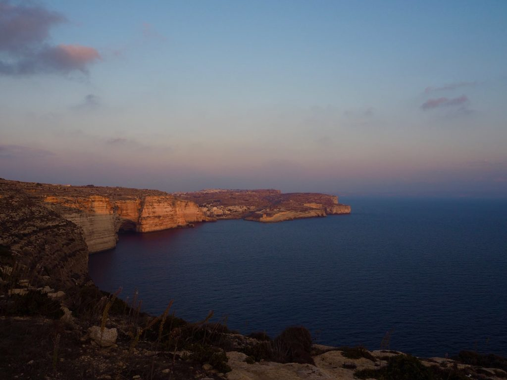 Cliffs of Xlendi