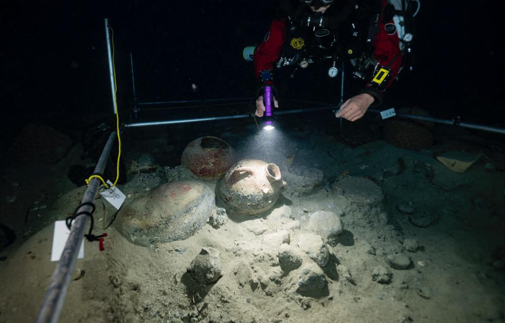 Phoenician Shipwreck 2019 N3
